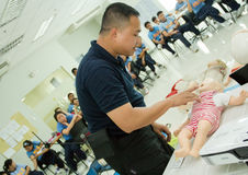 Paramedic Training Royalty Free Stock Images