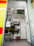 Paramedic vehicle Stock Images