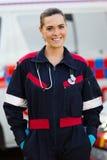 Paramedicinsk ambulans Royaltyfri Fotografi