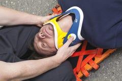 Paramedicinsk anställd Royaltyfria Bilder