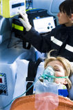paramedicinsk tålmodig Royaltyfri Fotografi
