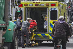Paramedico Fotografia Stock Libera da Diritti