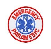 Paramedico Patch di emergenza fotografia stock libera da diritti