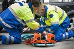 Paramedics stock photos