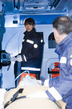 Paramedics With Patient Stock Photography