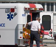Paramedicus Stock Foto