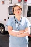 Paramedicus royalty-vrije stock afbeeldingen