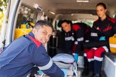Paramedicusteam royalty-vrije stock fotografie