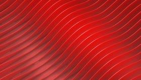 Parametrisk arkitektur för abstrakt geometrisk röd kurva på bakgrund stock illustrationer