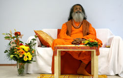 Paramhans svami Mahasvarananda Royalty Free Stock Image