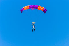 Paramilitar da aterrissagem Imagem de Stock