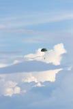 Paramilitar que cai através do céu Imagem de Stock Royalty Free
