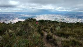 ¡Paramo de Bogotà del paisaje fotos de archivo libres de regalías