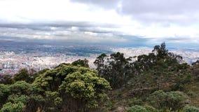 ¡Paramo de Bogotà del paisaje Fotos de archivo