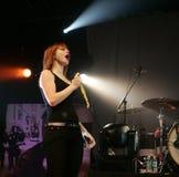 Paramore führt im Konzert durch stockbild