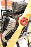 paramotor的发动机零件 免版税图库摄影