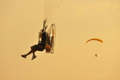 Paramotor Royalty Free Stock Photography