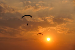 Paramotor Royalty Free Stock Photos