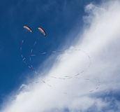 Paramotor Demonstration Royalty Free Stock Images