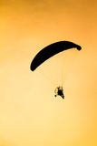Paramotor. Royalty Free Stock Photography