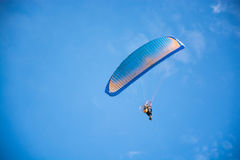 Paramotor latanie Zdjęcie Royalty Free