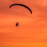 Paramotor,sport Royalty Free Stock Images