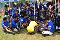 Paramotor-Team Stockbilder