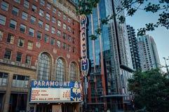 Paramount Cinema in Seattle Washington United States of America royalty free stock photos
