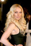 Lindsay Lohan Arkivbild