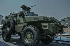 Paramount Parabot marauder security vehicle Stock Photos