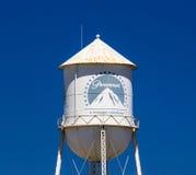 Paramount Pictures-Wasserturm und -zeichen Stockbilder