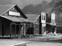 Paramount Ranch Western Town Royalty Free Stock Images