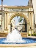 Paramount-Studio-Bilder innerhalb des Tors Hollywood bereisen auf das am 14. August 2017 - Los Angeles, LA, Kalifornien, CA Lizenzfreies Stockfoto