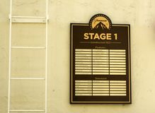 Paramount Studios Pictures, Stage 1 Features, Hollywood Tour on the 14th August, 2017 - Los Angeles, LA, California, CA. USA royalty free stock images