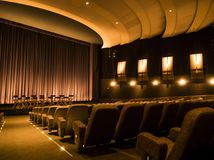 Paramount Studios Pictures Theatre Hollywood Tour on the 14th August, 2017 - Los Angeles, LA, California, CA Royalty Free Stock Images