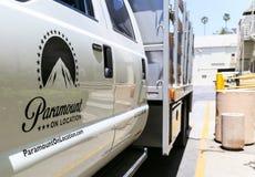 Paramount sur l'emplacement Photos stock
