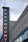 Paramount-Theater Lizenzfreie Stockfotos