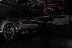 Paramus NJ - September 24th 2016 - 1 av 250 Lamborghini Huracan Avio Arkivfoton