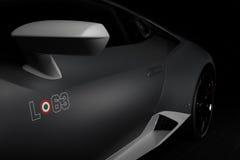Paramus, NJ - 24. September 2016 - 1 von 250 Lamborghini Huracan Avio Stockbild