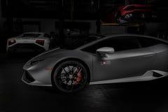 Paramus, NJ - 24. September 2016 - 1 von 250 Lamborghini Huracan Avio Lizenzfreie Stockfotos