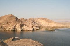 Paran水库,以色列 库存照片