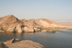 Paran Reservoir, Israel Stock Photo