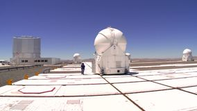 Paranal-Observatorium des ESO stock footage