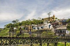 Paranapiacaba - el Brasil Imagen de archivo