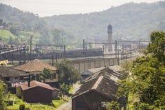 Paranapiacaba - il Brasile Fotografia Stock Libera da Diritti