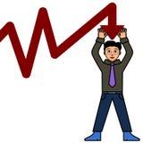 Parando a falência Foto de Stock