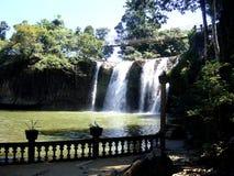 Paranella公园美丽的瀑布在澳大利亚 免版税库存图片
