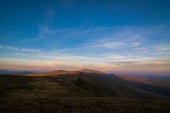 Parang山风景,罗马尼亚 免版税库存图片