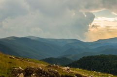 The Parang mountains II. On a trip you can see always something beautiful, interesting, exciting...but one road in Romania reveals lots of them :Transalpina Stock Image