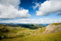 Parang mountains in Romania Stock Image